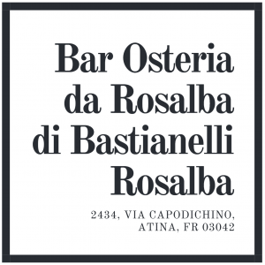 Bar Osteria Da Rosalba